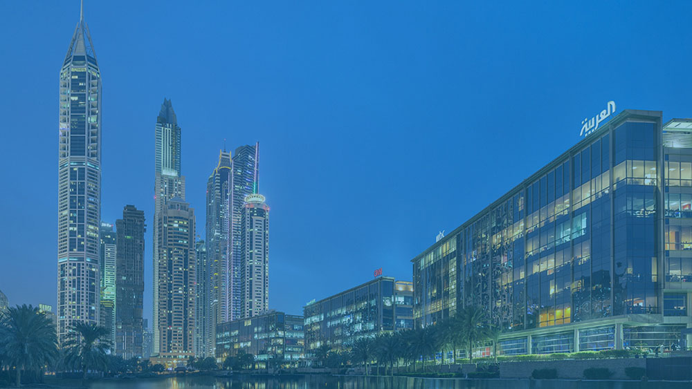 Media City in Dubai